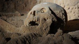 Actun Tunichil Muknalcave skull