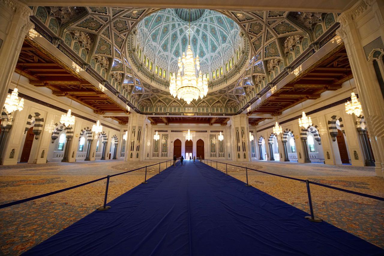 Oman-Sultan Qaboos Grand Mosque