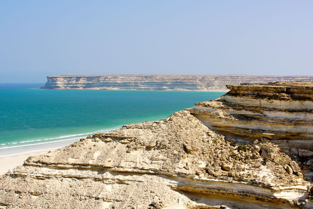 Cliff in Oman