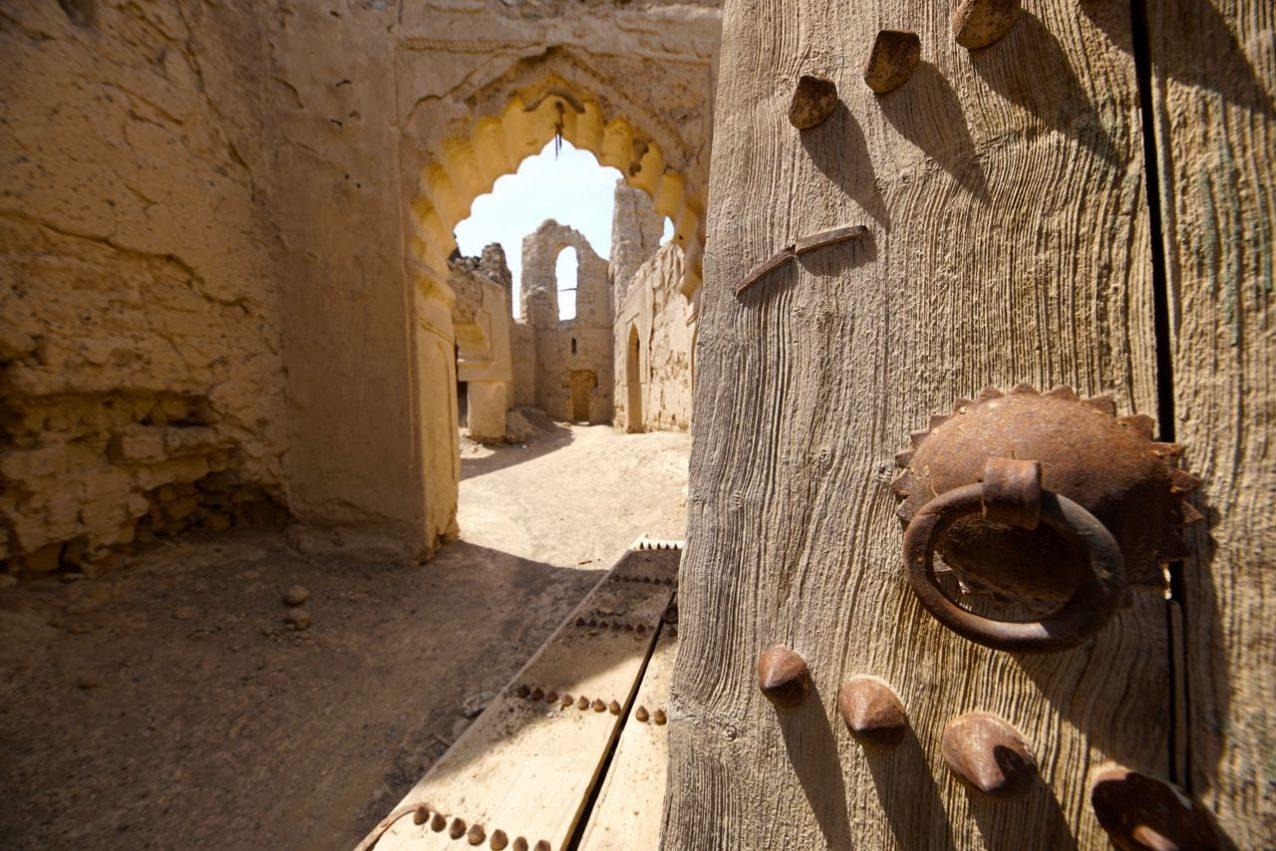 Al Minzafah in Oman