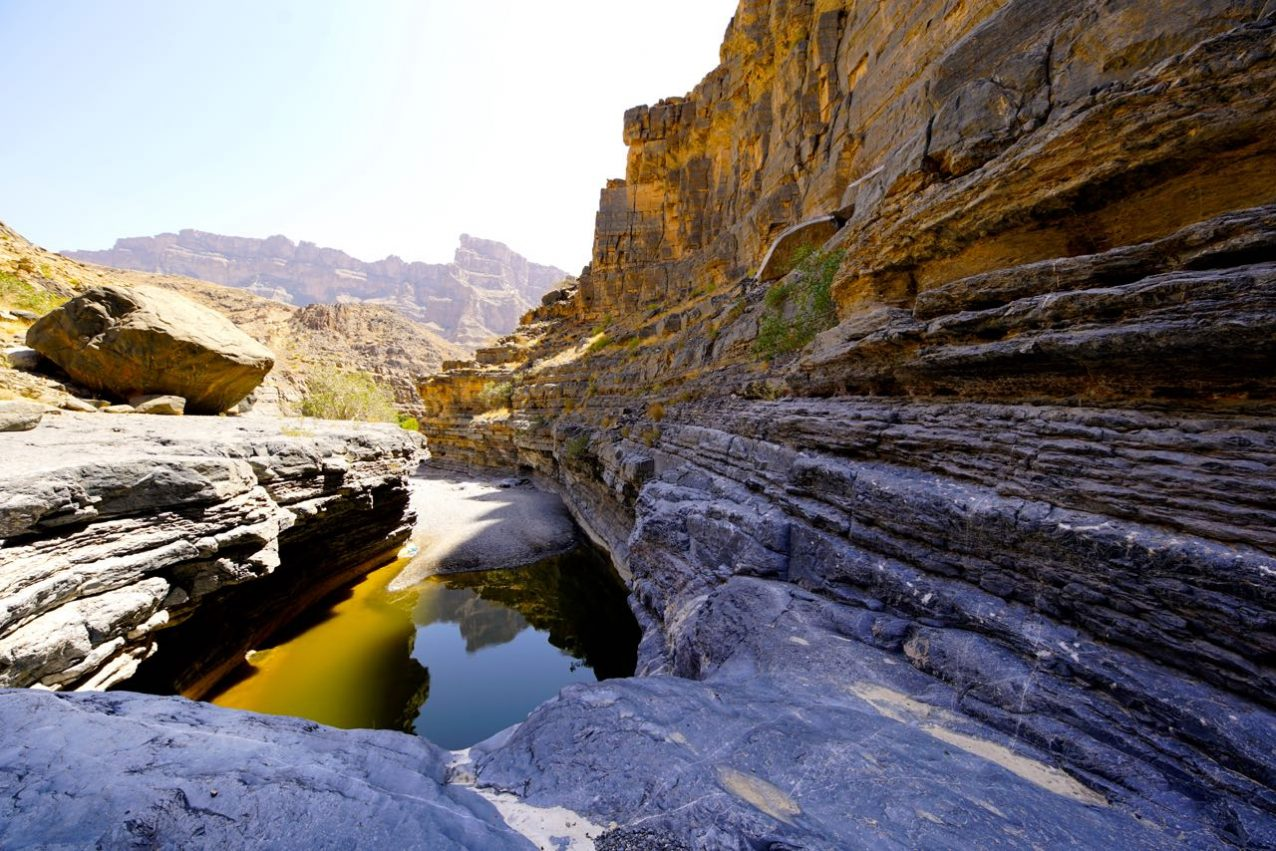 Wadi An Nakhur Canyon