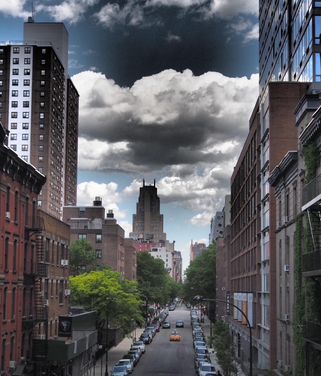 New York sky
