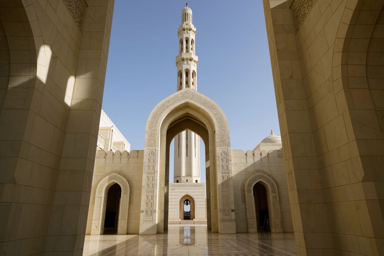 Sultan Qaboos Grand Mosque in Oman