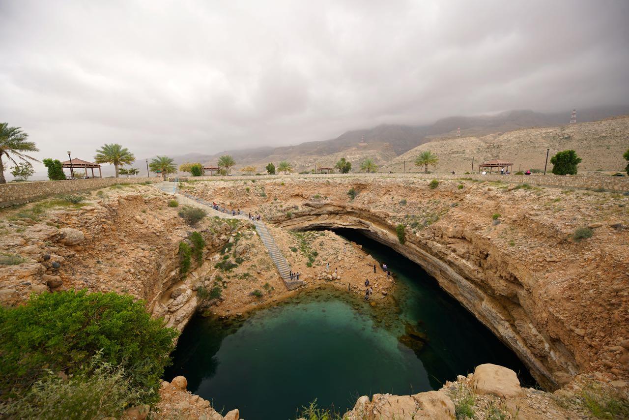 Bamah Sinkhole in Oman