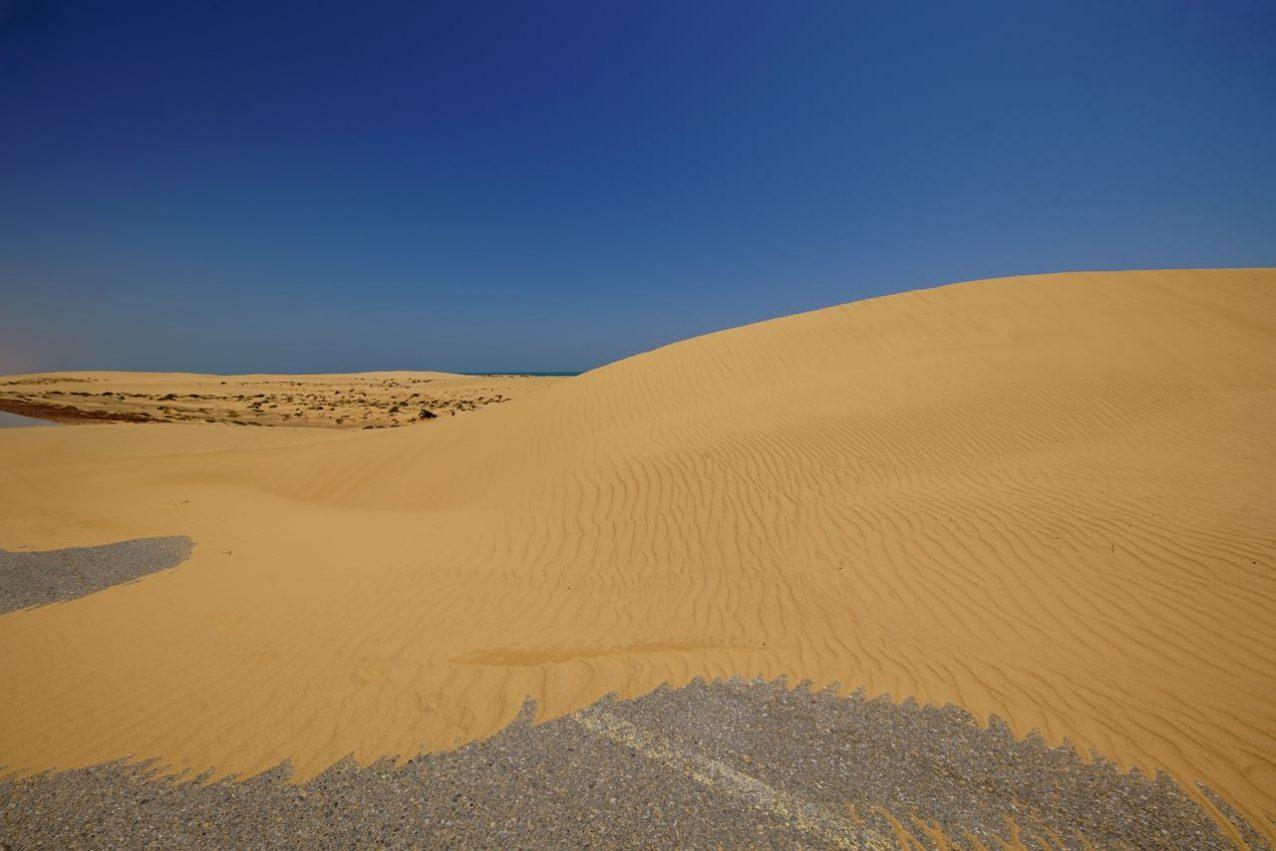 Dune in Qurun, Oman