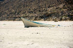 Beach in Ad Duqm Area Oman