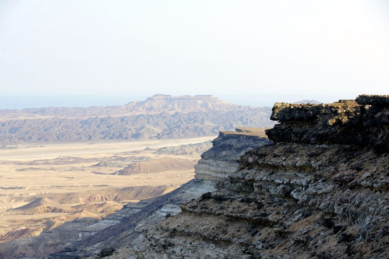 Cliffs in Ad Duqm Area in Oman