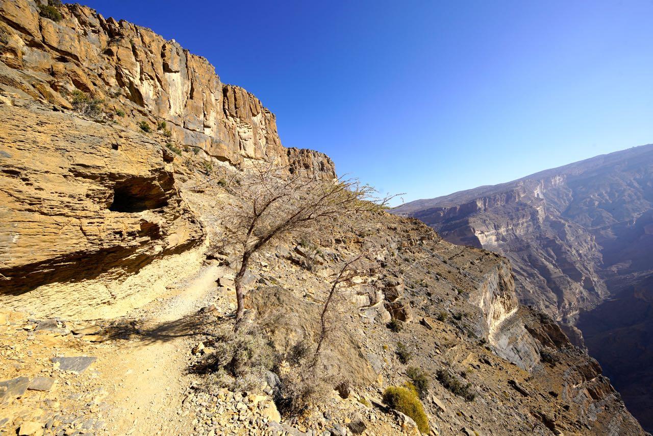 Jebel Shams in Oman