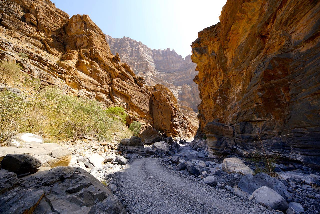 Wadi An Nakhur Canyon Oman