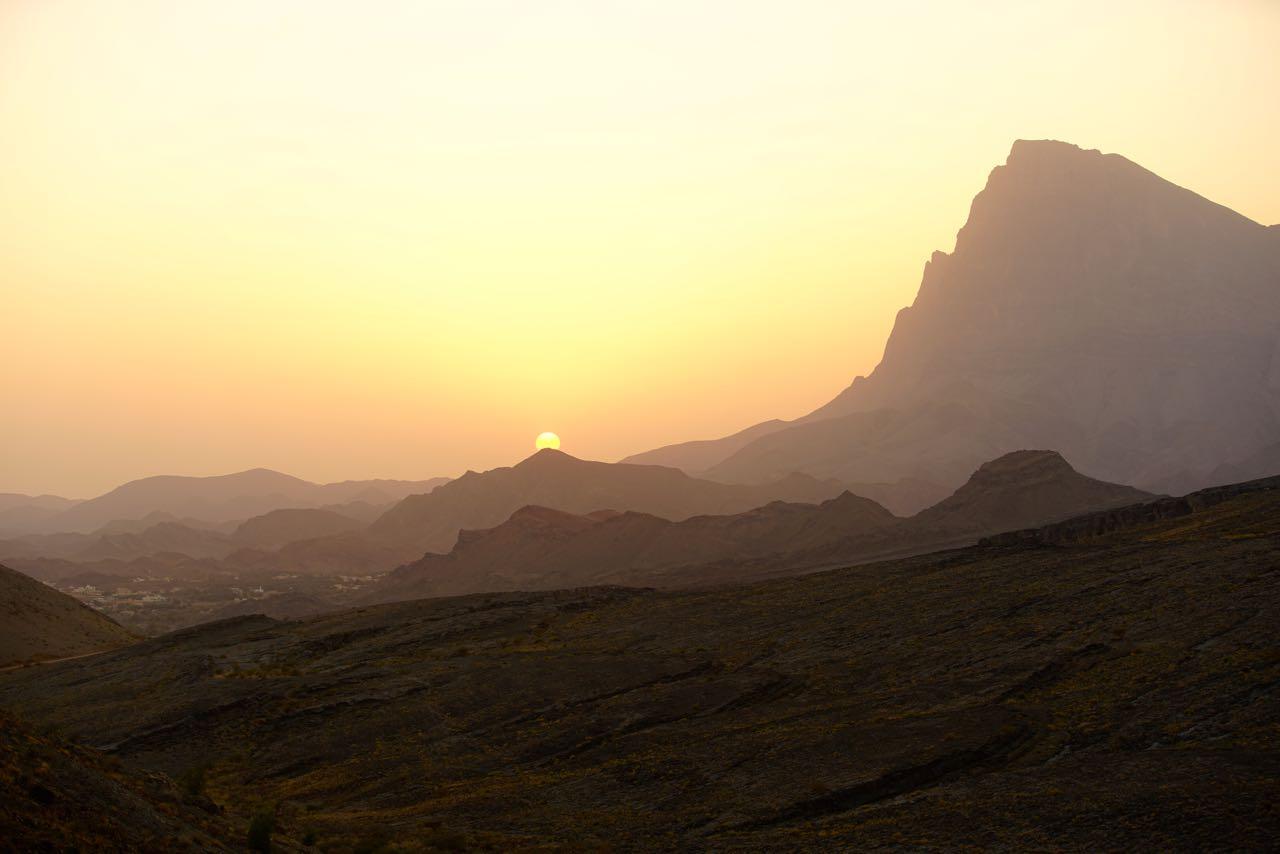 Dschabal Mischt in Oman