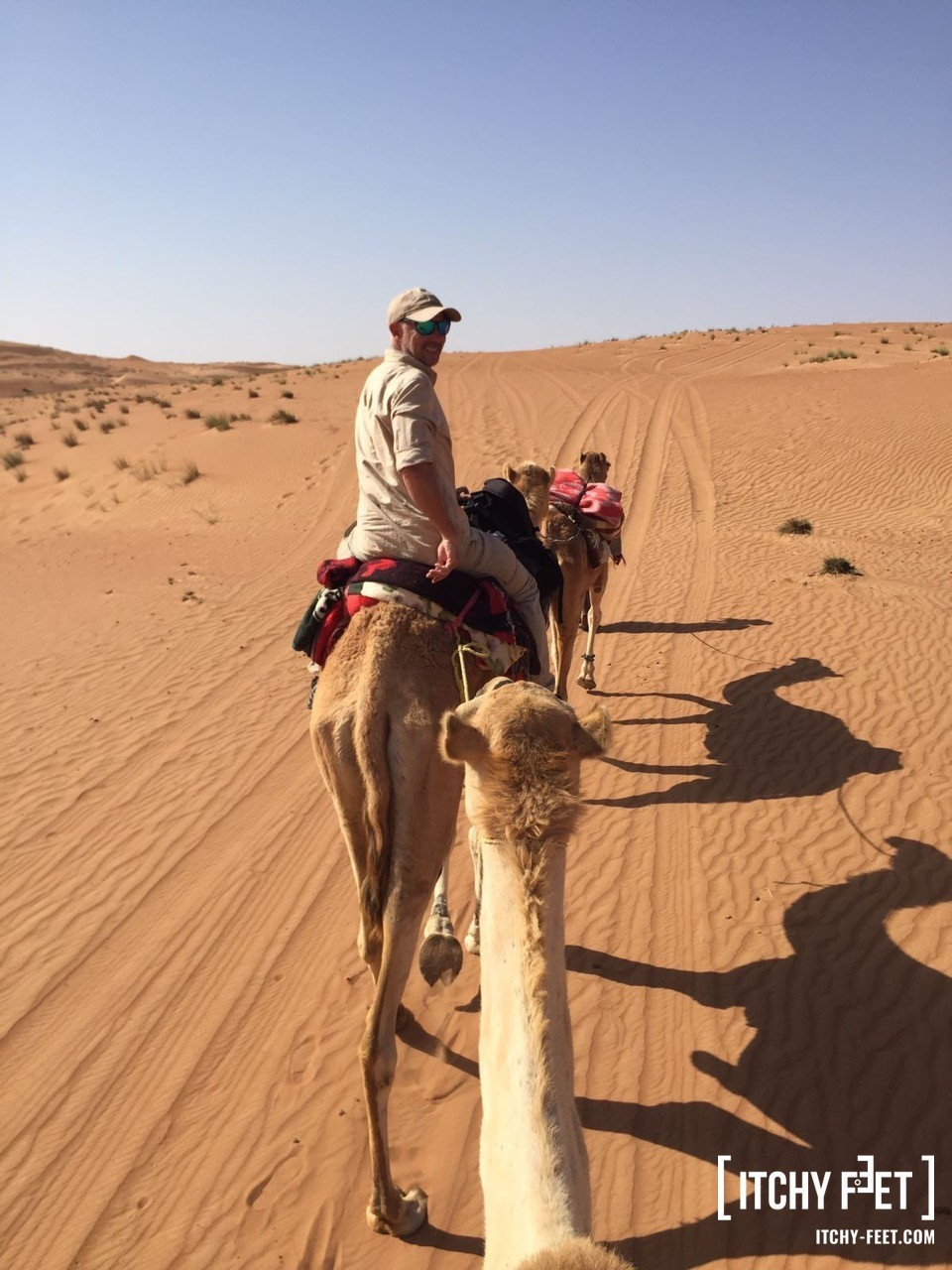 Dromedar reiten im Oman