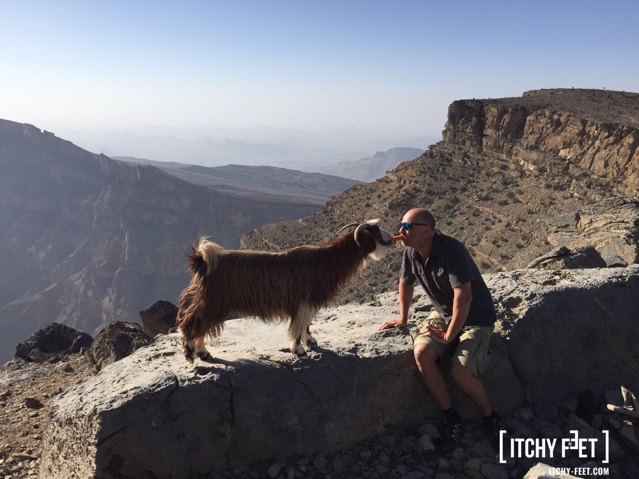 Reisebericht Oman Balcony Walk