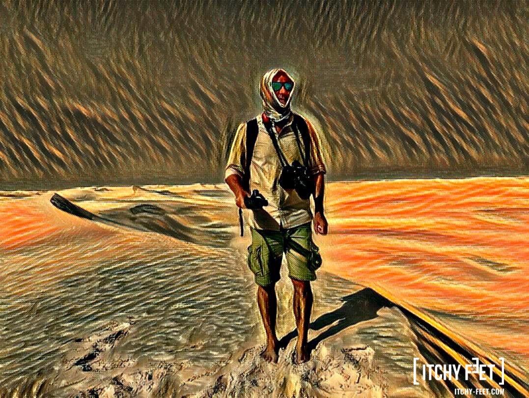 Reisebericht Oman Itchy Feet